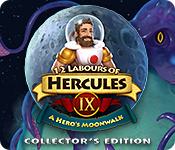 Característica De Pantalla Del Juego 12 Labours of Hercules IX: A Hero's Moonwalk Collector's Edition