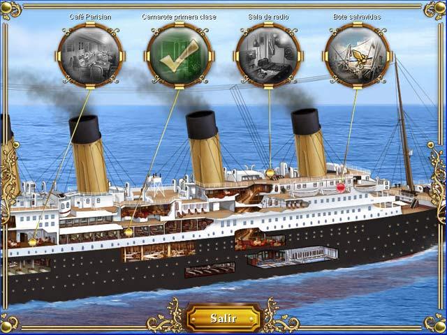 Juegos Capturas 3 1912: Titanic Mystery