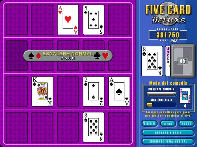 Juegos Capturas 2 Five Card Deluxe
