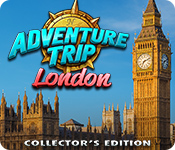 Característica De Pantalla Del Juego Adventure Trip: London Collector's Edition