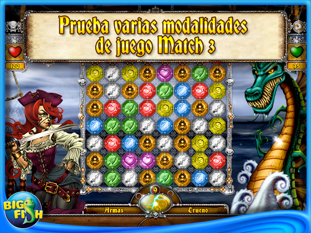 Pantallazo de The Adventures of Mary Ann: Lucky Pirates