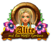 Característica De Pantalla Del Juego Alice and the Magic Gardens