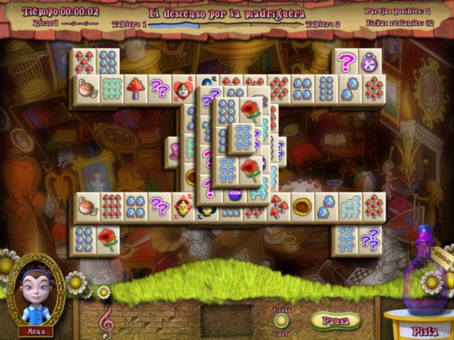 Juegos Capturas 2 Alice's Magical Mahjong