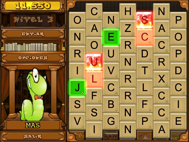 Juegos Capturas 3 Bookworm Deluxe