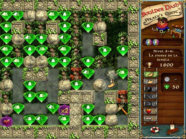 Juegos Capturas 2 Boulder Dash: Pirate's Quest