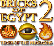 Característica De Pantalla Del Juego Bricks of Egypt 2