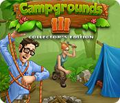 Característica De Pantalla Del Juego Campgrounds III Collector's Edition