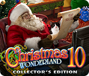 Característica De Pantalla Del Juego Christmas Wonderland 10 Collector's Edition