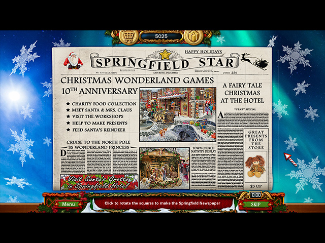 Juegos Capturas 2 Christmas Wonderland 10 Collector's Edition