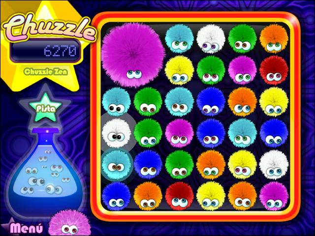 Juegos Capturas 2 Chuzzle Deluxe