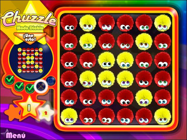 Juegos Capturas 3 Chuzzle Deluxe