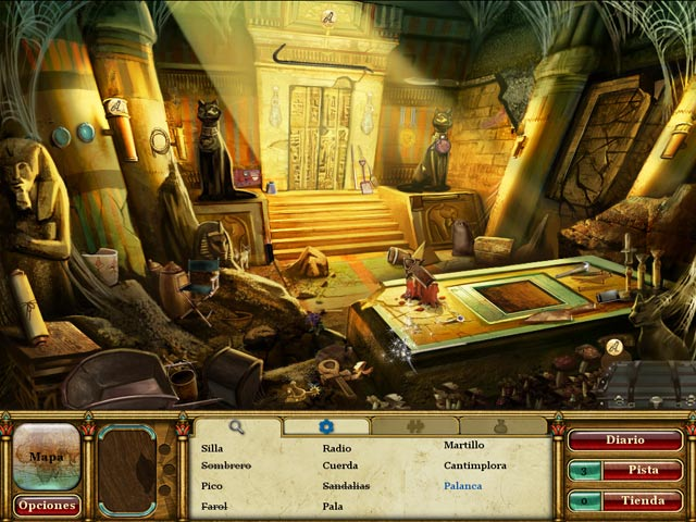 Video de Curse of the Pharaoh: Las lágrimas de Sejmet