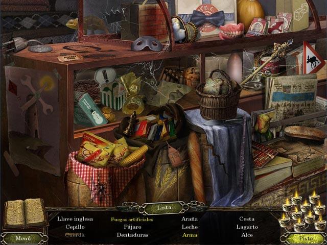 Juegos Capturas 3 Cursed Memories: El misterio de Agony Creek