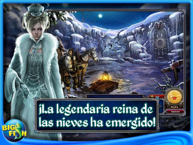 Pantallazo de Dark Parables: La reina de las Nieves Edición Coleccionista