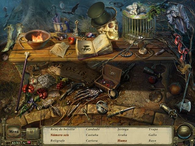 Juegos Capturas 2 Dark Tales: El entierro prematuro por Edgar Allan Poe
