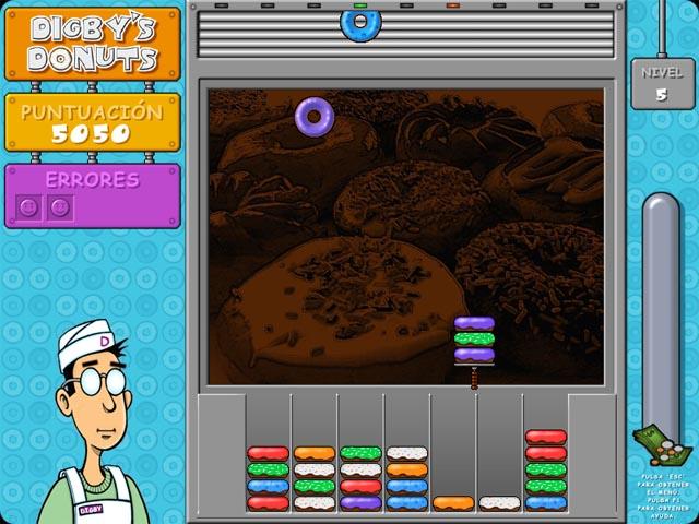 Juegos Capturas 2 Digby`s Donuts