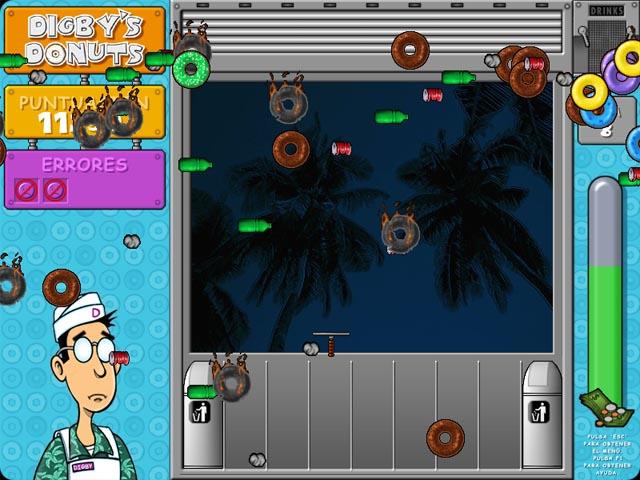 Juegos Capturas 3 Digby`s Donuts