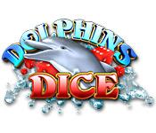 Característica De Pantalla Del Juego Dolphin Dice Slots