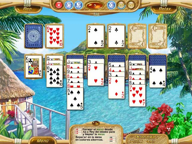 Juegos Capturas 1 Dream Vacation Solitaire