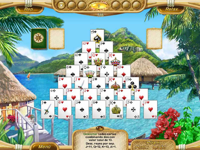 Juegos Capturas 2 Dream Vacation Solitaire