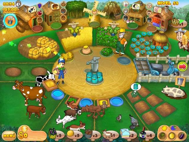 Juegos Capturas 1 Farm Mania 2