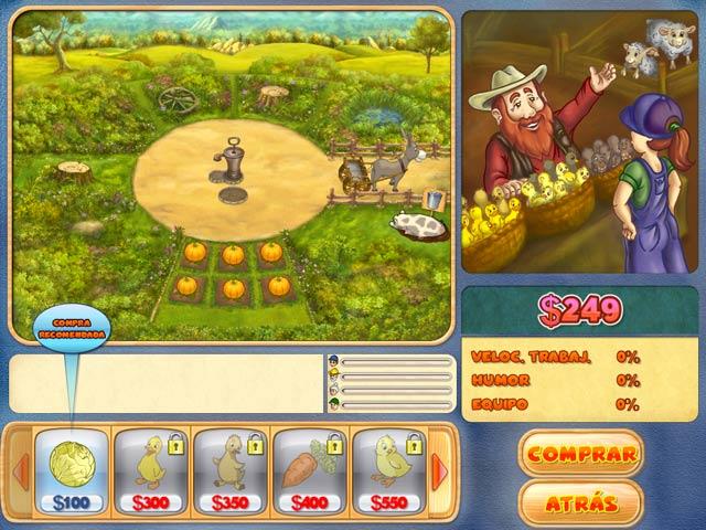 Juegos Capturas 3 Farm Mania 2