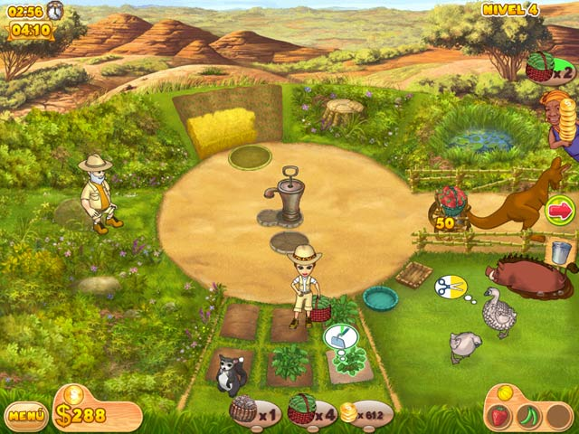 Juegos Capturas 3 Farm Mania: Hot Vacation