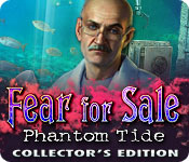 Característica De Pantalla Del Juego Fear for Sale: Phantom Tide Collector's Edition