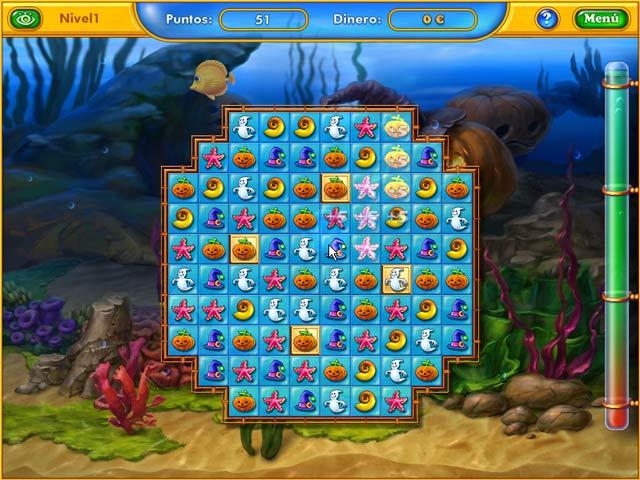 Juegos Capturas 1 Fishdom - Spooky Splash