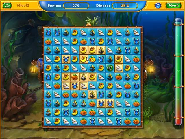 Juegos Capturas 3 Fishdom - Spooky Splash