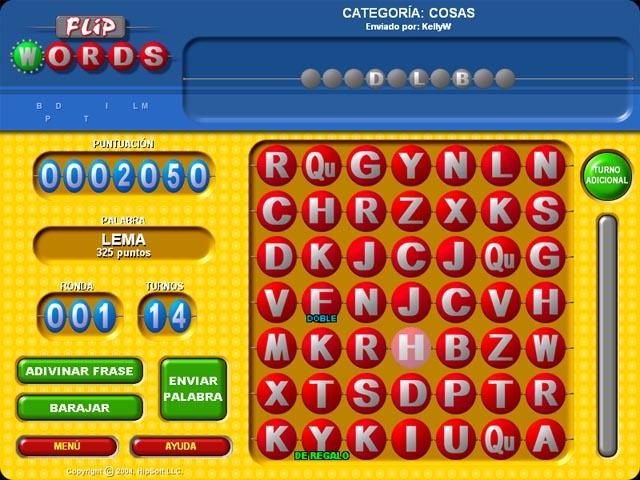 Juegos Capturas 3 Flip Words
