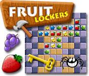Característica De Pantalla Del Juego Fruit Lockers