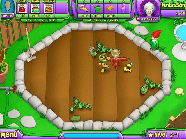 Juegos Capturas 3 Garden Dreams