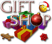 Característica De Pantalla Del Juego Gift Shop
