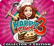 Característica De Pantalla Del Juego Happy Chef 3 Collector's Edition