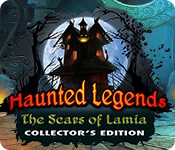Característica De Pantalla Del Juego Haunted Legends: The Scars of Lamia Collector's Edition