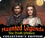 Característica De Pantalla Del Juego Haunted Legends: The Dark Wishes Collector's Edition