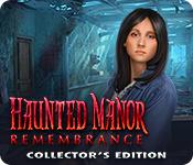 Característica De Pantalla Del Juego Haunted Manor: Remembrance Collector's Edition