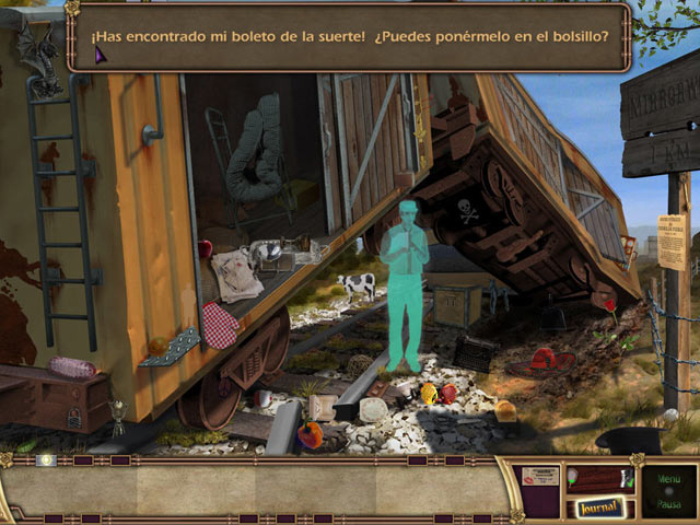Juegos Capturas 3 Hidden in Time: El Sendero del Espejo