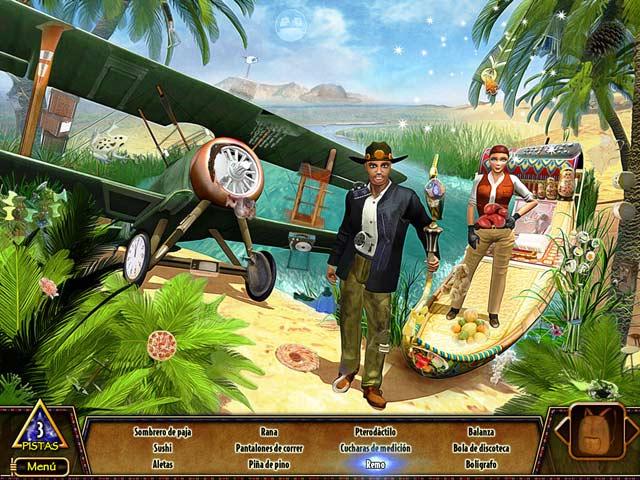 Juegos Capturas 1 Hide & Secret 3:  La Búsqueda del Faraón