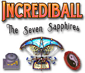 Característica De Pantalla Del Juego Incrediball - The Seven Sapphires