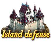 Característica De Pantalla Del Juego Island Defense
