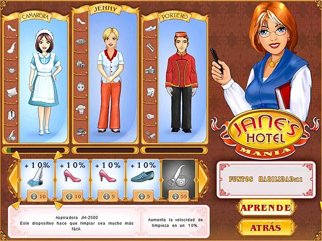 Juegos Capturas 3 Jane's Hotel Mania