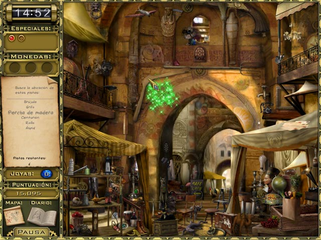 Juegos Capturas 3 Jewel Quest Mysteries: Curse of the Emerald Tear