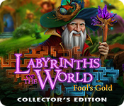 Característica De Pantalla Del Juego Labyrinths of the World: Fool's Gold Collector's Edition