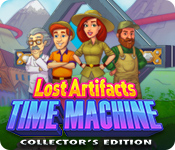 Característica De Pantalla Del Juego Lost Artifacts: Time Machine Collector's Edition