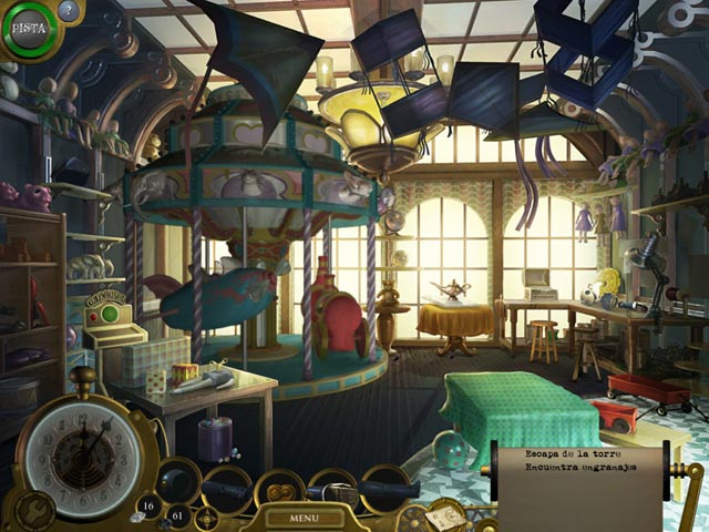 Juegos Capturas 1 Lost in Time: The Clockwork Tower