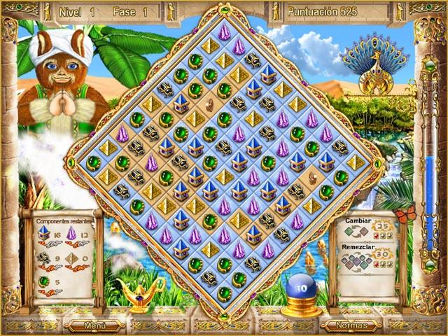 Juegos Capturas 1 Magic Match - The Genie`s Journey