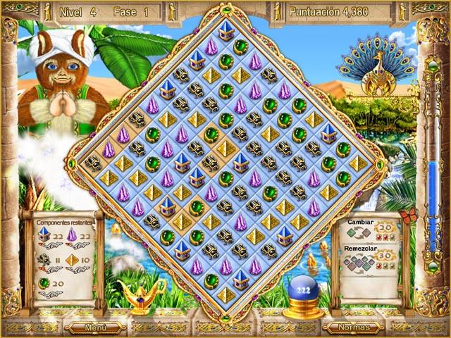Juegos Capturas 2 Magic Match - The Genie`s Journey