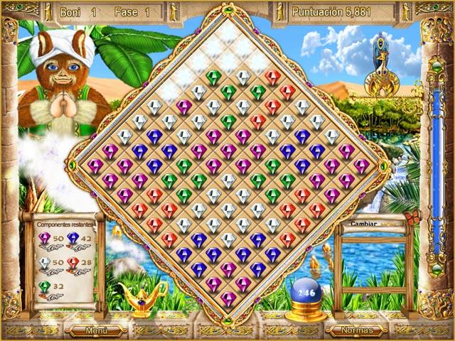 Juegos Capturas 3 Magic Match - The Genie`s Journey